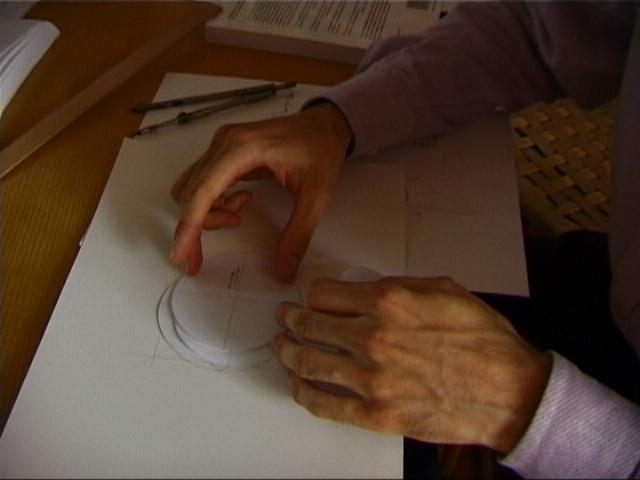 Secondo still dal video (le costruzioni geometriche (ancora fase di studio))
